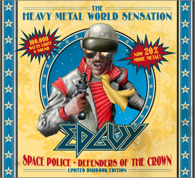 EDGUY - SPACE POLICE - Defenders Of The Crown SpacePoliceLimitedEditionDigi